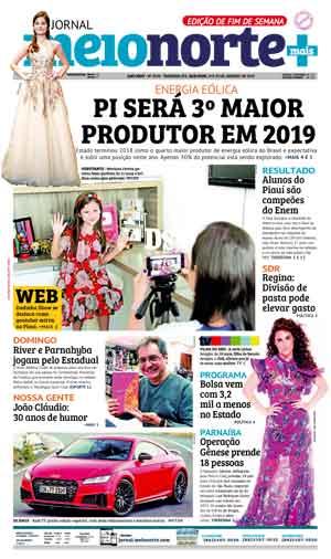 Jornal Meio Norte do dia 19-01-2019