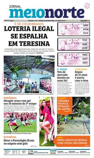 Jornal Meio Norte do dia 21-01-2019