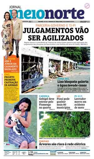Jornal Meio Norte do dia 22-01-2019