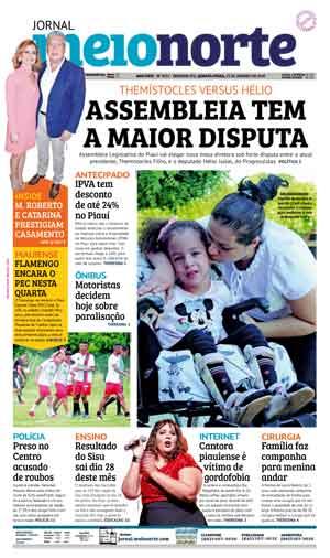 Jornal Meio Norte do dia 23-01-2019