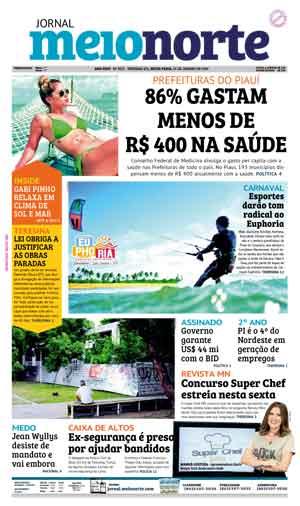 Jornal Meio Norte do dia 25-01-2019