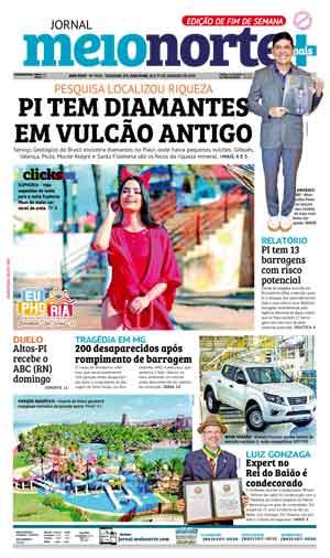 Jornal Meio Norte do dia 26-01-2019