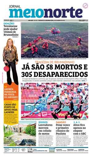 Jornal Meio Norte do dia 28-01-2019