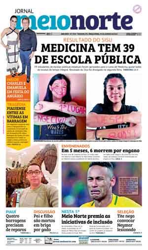 Jornal Meio Norte do dia 29-01-2019