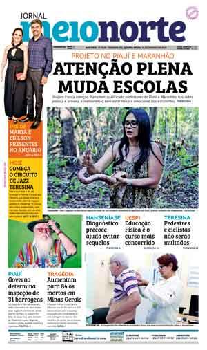 Jornal Meio Norte do dia 30-01-2019