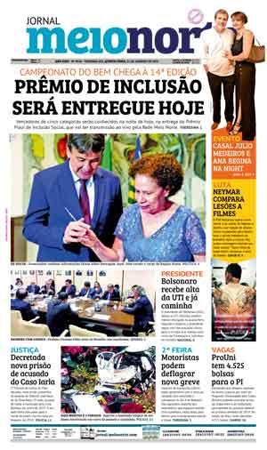 Jornal Meio Norte do dia 31-01-2019
