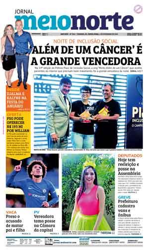 Jornal Meio Norte do dia 1-02-2019
