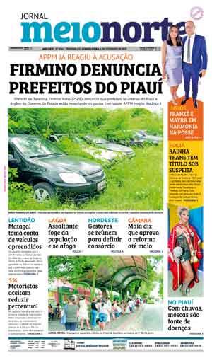 Jornal Meio Norte do dia 6-02-2019