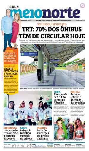 Jornal Meio Norte do dia 7-02-2019