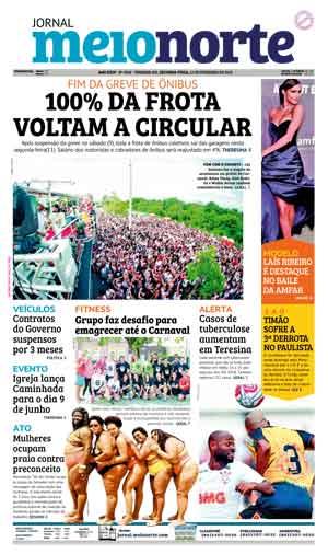 Jornal Meio Norte do dia 11-02-2019