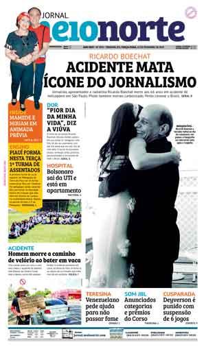 Jornal Meio Norte do dia 12-02-2019