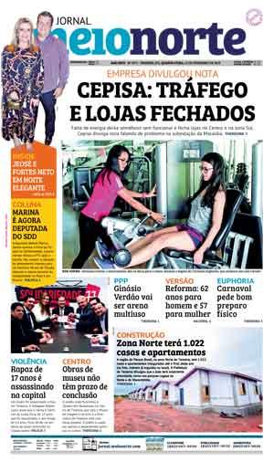 Jornal Meio Norte do dia 13-02-2019
