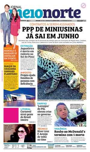 Jornal Meio Norte do dia 14-02-2019