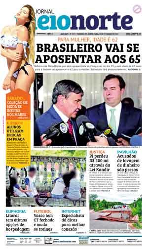 Jornal Meio Norte do dia 15-02-2019