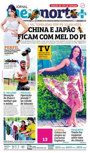 Jornal Meio Norte do dia 17-02-2019