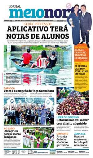 Jornal Meio Norte do dia 18-02-2019