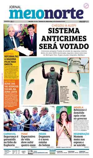 Jornal Meio Norte do dia 19-02-2019