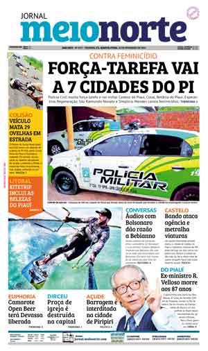 Jornal Meio Norte do dia 20-02-2019