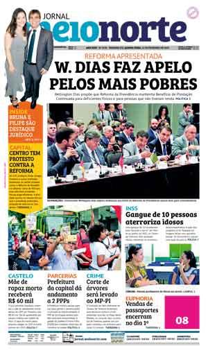 Jornal Meio Norte do dia 21-02-2019