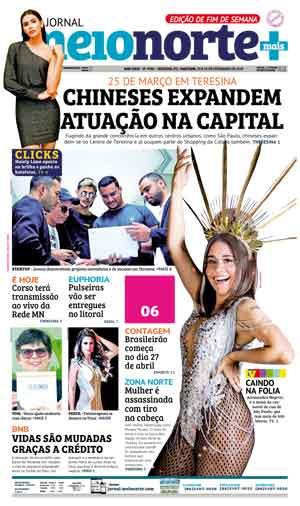 Jornal Meio Norte do dia 23-02-2019