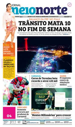 Jornal Meio Norte do dia 25-02-2019