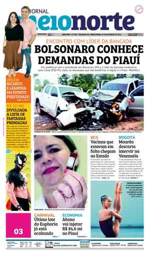 Jornal Meio Norte do dia 26-02-2019
