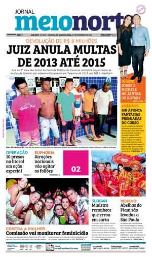 Jornal Meio Norte do dia 27-02-2019