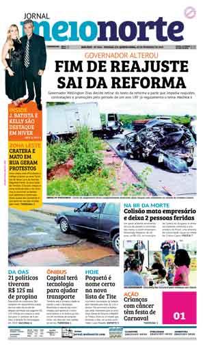 Jornal Meio Norte do dia 28-02-2019