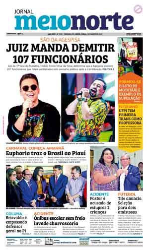 Jornal Meio Norte do dia 1-03-2019