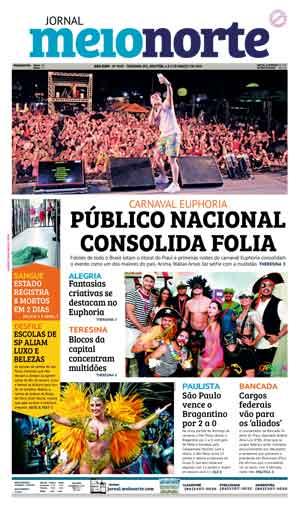 Jornal Meio Norte do dia 4-03-2019