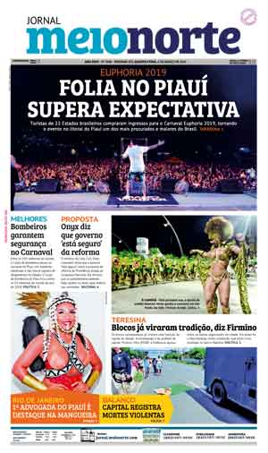 Jornal Meio Norte do dia 6-03-2019
