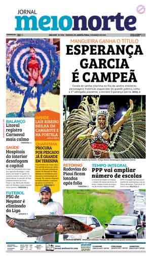 Jornal Meio Norte do dia 7-03-2019