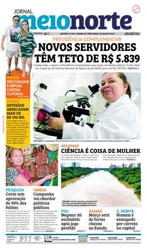 Jornal Meio Norte do dia 8-03-2019
