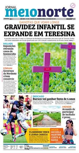 Jornal Meio Norte do dia 11-03-2019