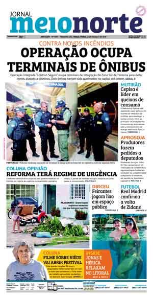 Jornal Meio Norte do dia 12-03-2019