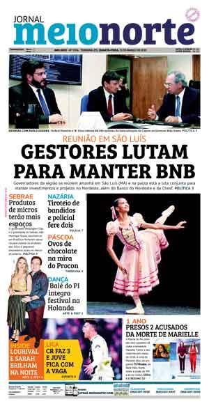 Jornal Meio Norte do dia 13-03-2019