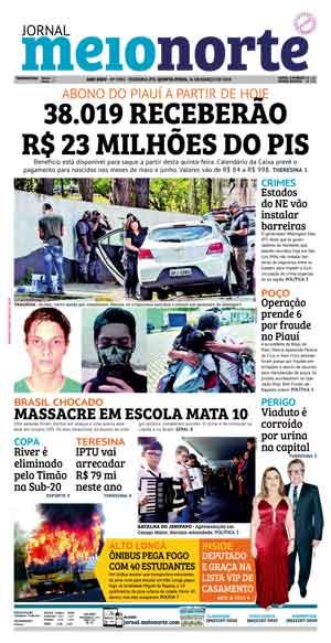 Jornal Meio Norte do dia 14-03-2019