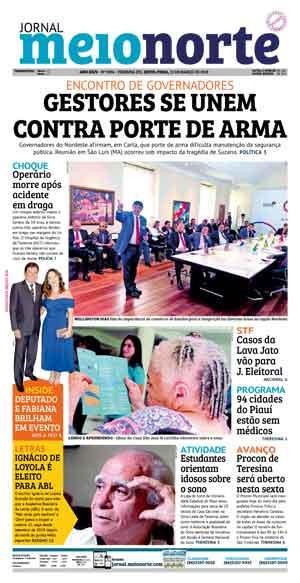 Jornal Meio Norte do dia 15-03-2019