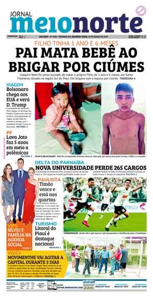 Jornal Meio Norte do dia 18-03-2019