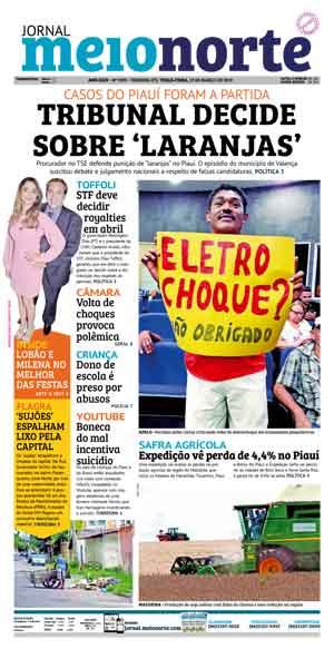 Jornal Meio Norte do dia 19-03-2019
