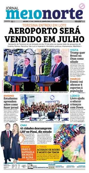 Jornal Meio Norte do dia 20-03-2019