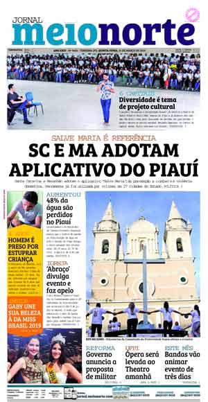 Jornal Meio Norte do dia 21-03-2019