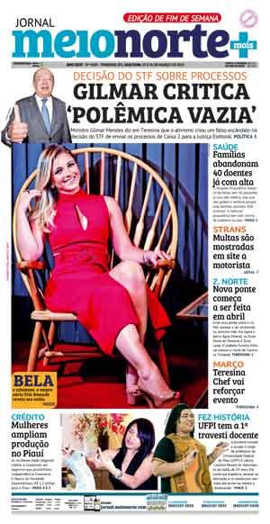 Jornal Meio Norte do dia 23-03-2019
