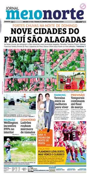 Jornal Meio Norte do dia 25-03-2019