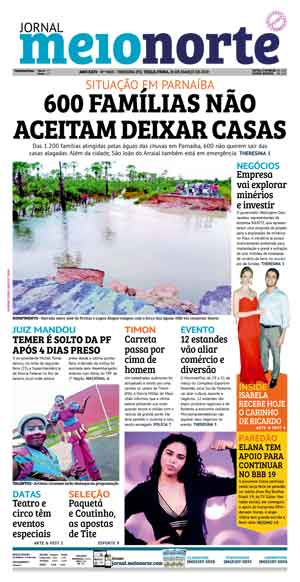 Jornal Meio Norte do dia 26-03-2019