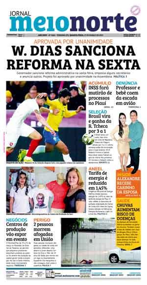 Jornal Meio Norte do dia 27-03-2019
