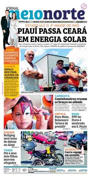 Jornal Meio Norte do dia 28-03-2019