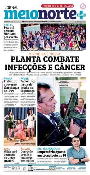 Jornal Meio Norte do dia 30-03-2019