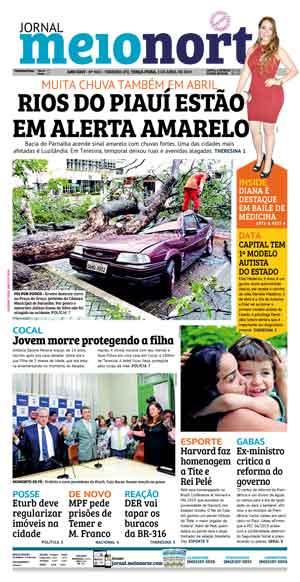 Jornal Meio Norte do dia 2-04-2019