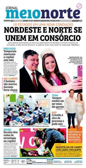 Jornal Meio Norte do dia 3-04-2019